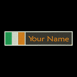 Irish Flag & Name